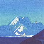 The Himalayas # 197 Sapphire Mountains, Roerich N.K. (Part 4)