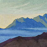 The Himalayas # 174 The Blue Fog, Roerich N.K. (Part 4)
