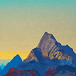 Roerich N.K. (Part 4) - The Himalayas - sunrise # 1 (Himalayas, Sunrise, Himalayan morning)