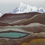 Mountain Lake # 33, Roerich N.K. (Part 4)