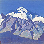 Himalayas # 55 Ancient stones snowy mountains, Roerich N.K. (Part 4)