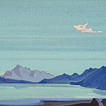 Tibetan lakes # 114, Roerich N.K. (Part 4)