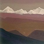 The Himalayas # 55 Mountain Suite, Roerich N.K. (Part 4)