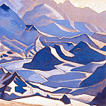 The Himalayas, Roerich N.K. (Part 4)
