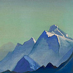 The Himalayas # 109 Waiting for the dawn, Roerich N.K. (Part 4)