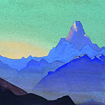 Himalayas. Dawn # 56, Roerich N.K. (Part 4)