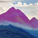 The Himalayas # 128 Lilac magic, Roerich N.K. (Part 4)
