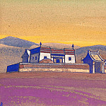 Roerich N.K. (Part 4) - Cagan Kure. Inner Mongolia. Expedition parking # 168