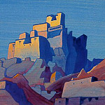 Roerich N.K. (Part 4) - Citadel in the Himalayas (ESC.) # 18 (Chiktan citadel in the Himalayas)