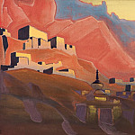 Sunset # 19 , Roerich N.K. (Part 4)