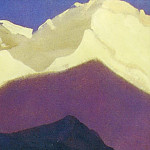 The Himalayas # 131 The snow on the tops, Roerich N.K. (Part 4)