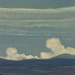 Himalayas # 73 Mystic game clouds, Roerich N.K. (Part 4)