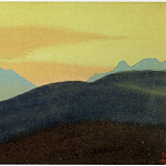 The Himalayas # 160 The Golden Dawn, Roerich N.K. (Part 4)
