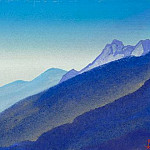 The Himalayas # 206 The mountain was given, Roerich N.K. (Part 4)