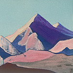 Roerich N.K. (Part 4) - The Himalayas (sketch) # 89