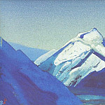 The Himalayas # 215 The Lonely Peak, Roerich N.K. (Part 4)