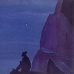 Roerich N.K. (Part 4) - Night (PGCs.) # 57 (Night (Star hero) sketch.)