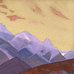Ridge, approaches to Everest # 130],, Roerich N.K. (Part 4)