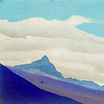 Roerich N.K. (Part 4) - Everest # 176 Everest (Clouds over blue peak)