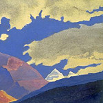 Clouds and mountains # 32, Roerich N.K. (Part 4)