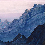 Himalayas album leaf , Roerich N.K. (Part 4)