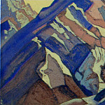 Himalayas # 97 Ranges of rocks, Roerich N.K. (Part 4)