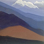 Roerich N.K. (Part 4) - Himalayas # 51 mountain desert