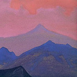 Himalayas. Evening # 220, Roerich N.K. (Part 4)