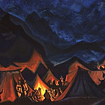 Roerich N.K. (Part 4) - Whispers of Desert (Tibetan Camp)