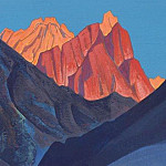 Sunset. Holy Mountains. Himalaya, Roerich N.K. (Part 4)