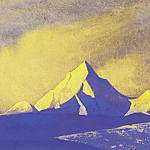 The Himalayas # 43 Gold of the Dawn, Roerich N.K. (Part 4)
