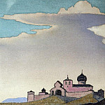 Roerich N.K. (Part 4) - Traveler Radiant City (sketch) # 112 (sketch of the painting