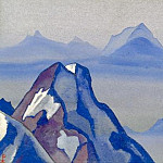 The Himalayas # 105 To the top, Roerich N.K. (Part 4)
