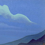 The Himalayas # 161 The Phantom Landscape, Roerich N.K. (Part 4)