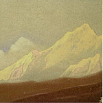 The Himalayas # 188 Morning, Roerich N.K. (Part 4)