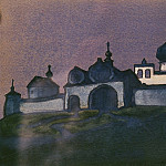 Roerich N.K. (Part 4) - Traveler Radiant City (sketch)