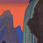 Song waterfall, Roerich N.K. (Part 4)
