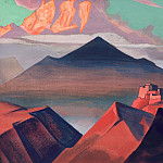 Roerich N.K. (Part 4) - Holy Mountains # 28 (Tent Mountain. From the