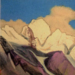 Roerich N.K. (Part 4) - Convent # 58 (Clouds over mountains)