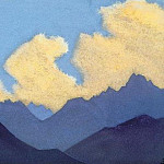 Roerich N.K. (Part 4) - Lahul # 104 Lahul (Clouds over the blue ridge)
