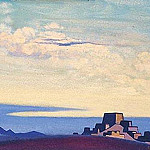 Tibet. Evening, Roerich N.K. (Part 4)