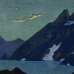 Mountain Lake # 2 , Roerich N.K. (Part 4)