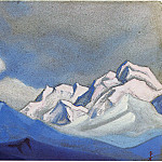 Himalayas # 80, Roerich N.K. (Part 4)