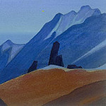 Himalayas # 53 Lights Star, Roerich N.K. (Part 4)