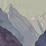 Tibetan sketch, Roerich N.K. (Part 4)