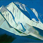 Roerich N.K. (Part 4) - Holy Mountains # 30 (the Himalayas. Rakopushi)