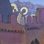 Roerich N.K. (Part 4) - Proceedings Madonna # 124 sketch Madonna Laboris (Madonna Laboris)