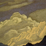 Roerich N.K. (Part 5) - The Himalayas # 124 of the Himalayas (Clouds over the top)