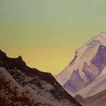 The Himalayas # 192 Dawn, Roerich N.K. (Part 4)
