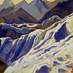 Himalayas # 76 Slopes covered with a glacier, Roerich N.K. (Part 4)